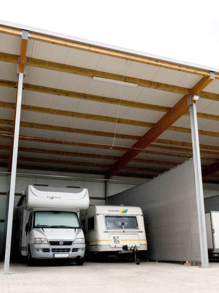 Unterstellplätze Münsterland – Unterstellplätze für Wohnmobile